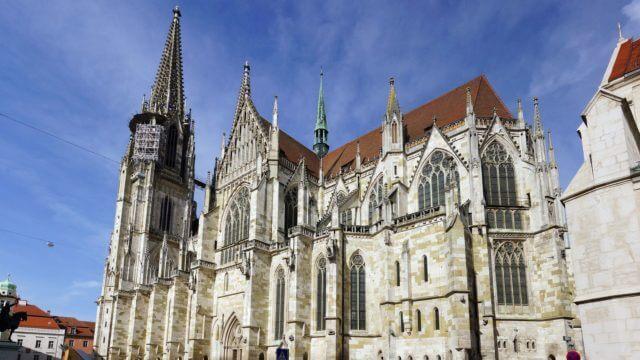 Regensburger Dom St. Peter, Bayern, Deutschland